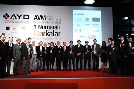 AYD Yılın Tercih edilen markaları 2012